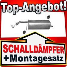 Endschalldämpfer FORD FIESTA VI 1.25 1.4 16V 2008-2012 Auspuff BDE
