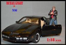 1:18 Knight Rider (Michael Knight) figure NAG for hotweels skynet diecast KITT