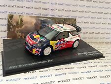 Citroen Ds3 WRC 1/43 Mexique 2011 Loeb/elena - IXO