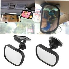 Universal Car Rear Seat View Mirror Baby Child Safety With Clip and SuckerHTKS
