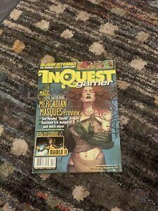 INQUEST Magazine #55 November 1999 Pokémon Diablo II D&D MTG