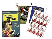 The Art Of Book Covers set of 52 playing cards + jokers (gib)