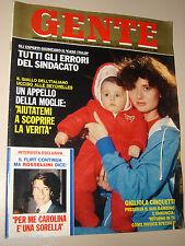 GENTE=1981/12=GIGLIOLA CINQUETTI=MARIA CALLAS VITA=RODDI D'ALBA=FRANCO COLUMBU=