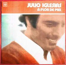 """JULIO IGLESIAS - CHILE LP """"A FLOR DE PIEL"""""""
