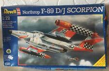 Revell Northrop F-89 D/J Scorpion 4320 Scale 1:72  Model Kit