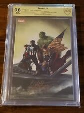 Avengers 8 Panini CBCS 9.8 SS Gabrielle Dell'otto French Virgin Variant