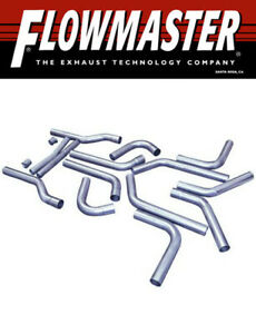 """Flowmaster 815937 Universal-Fit 3"""" Mandrel-Bent Exhaust Pipe Kit 409 Stainless"""