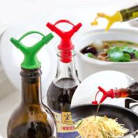 vin cuisine condiment flacon bouchon de la sauce de soja étanche la double tête