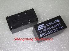 10pcs 8pins 5V SRC-05VDC-SH 1A 125VAC/30VDC SONGLE Relay