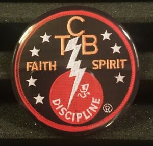 TCB Button Pin Back Badge Elvis Taking Care of Business Faith Spirit Jumbo Pin