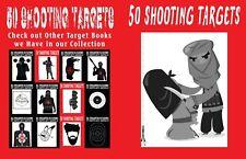 50 Shooting Targets #2: #253 - 50 Shooting Targets 8. 5 X 11 - Silhouette, Targe