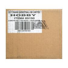2016-17 Panini Limited Basketball Hobby 12-box Case