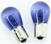 2x P21W 6000k Tagfahrlicht Standlicht Effekt kalt Weiß Lampe Birne BA15S blau