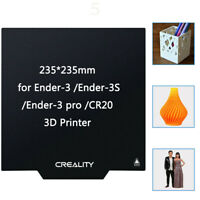 Creality Ender-3/3 Pro 3D Printer Upgrade Build Plate Magnetic Square Heated Bed