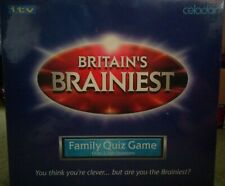 Britain's Brainiest: A Family Quiz Game - Brand New & Sealed