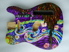 Telecaster Tele Guitar Body -- Vintage Style Swamp Ash 2.27kg Hand Painted