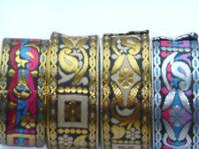 couture costume médiéval, scapbooking galon or et rouge 10mm