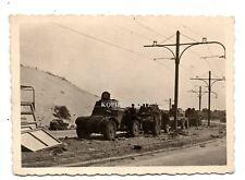 (x30) Frankreich 1940 Einm. Dünkirchen engl. SDkfz Panzer Tank Kampf Trümmer