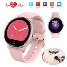 Women Girl Smart Watch Heart Rate Calories Sport Wristband for iPhone LG Android