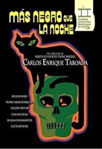 MAS NEGRO QUE LA NOCHE MOVIE DVD MEXICAN EDITION REGION 4 MEXICO Claudia Islas