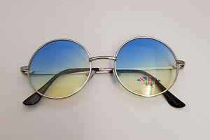 Round John Lennon Style Elite Sunglasses Colour Full Lenses Medium Size Glasses