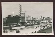 Lancs BLACKPOOL Casino & Pleasure Beach Entrance RP PPC 1947 Saidman