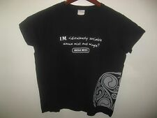 Irish Mist Ireland Whiskey Liqueur Ridiculously Sociable Black Muscle T Shirt M