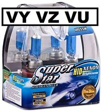 VY VZ Xenon White Projector Headlight Bulbs High Low Berlina Calais HSV SS VU
