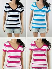 NWT HOLLISTER Women's T Shirt 2013 Aliso Creek V Neck Classic Fit By Abercrombie