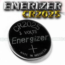 2 NEW Energizer CR2025 ECR 2025 Batteries 3V Exp 2023