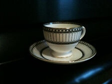 """Cup and Saucer, Wedgewood, """"Colonnade"""", Bone China, NEW"""