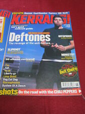 KERRANG! - DEFTONES - 3 July 1999