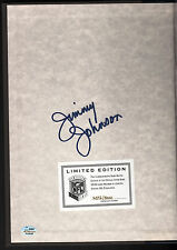 Jimmy Johnson Autograph Super Bowl XXVII Limited Edition Hardcover Program