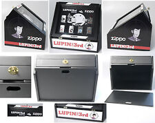 (PRL) COLLEZ. COMPLETA 6 ZIPPO LUPIN TERZO 3RD III PROTOTIPO PROTOTYPE UNICO NEW