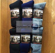 6 Pairs Top Quality 90% Merino Wool SUPER SOFT WARM Dress Work Socks NEW