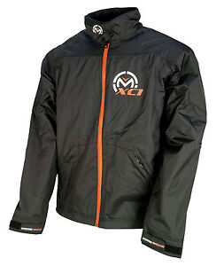 Moose Racing MX Off-Road Kids XC1 Rain Jacket (Black) Choose Size