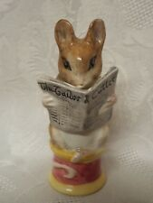 The Best Beswick Boxed Johnny Town-mouse With Bag Rare Bp4 Only Issued 1988-89 Perfect Beatrix Potter Pottery, Porcelain & Glass