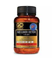 GO Healthy Liver Detox 1 A Day 60 Capsules AU EXPRESS POSTAGE antioxidant