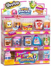 SHOPKINS (Season 10) Mini Pack SHOPPER PACK Toy Figures - 16 Items!