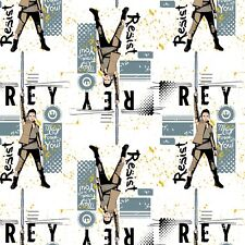 Disney Star Wars Resistance Rey  Lead By the yard x 43 Cotton Print