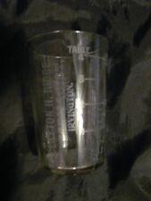 Antique CLAYTON H RIDGE IRVINGTON PHARMACIST Medicine Shot Glass