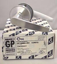 "PDQ Commercial Lockset GP 126 MIAMI PASSAGE 2 3/4"" BACKSET SCHLAGE"