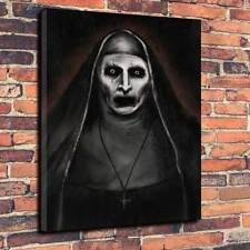 "Modern Horror The Conjuring Nun Valak Printed Canvas Picture A1.30""x20""30mm Deep"