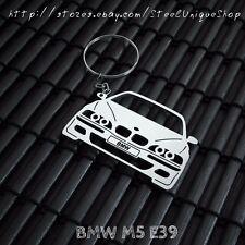 BMW M5 E39 Stainless Steel Keychain