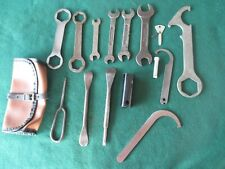 CLASSIC TRIUMPH TROPHY TR6 6T TIGER T110 MOTORCYCLE --  ORIGINAL TOOLKIT
