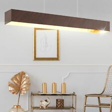 LED Vintage Decken Pendel Lampe Balken Decken Hänge Leuchte Antik Braun Gold NEU