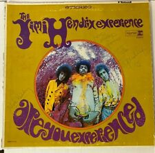 JIMI HENDRIX EXPERIENCE Autographed Signed ARE YOU EXPERIENCED LP Cover COA