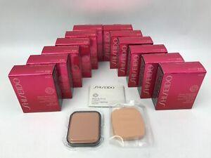 12 x Shiseido Foundation Sheer Matifying Compact Refill - Very Deep Beige (B100)