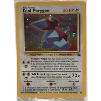 Pokemon Card Cool Porygon # 15 Black Star Promo Holo Brand Factory Sealed WOTC