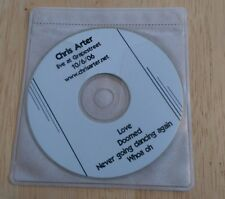 Chris Arter Live At Grapestreet Pub promo CD Love Doomed Never Going Dancing htf